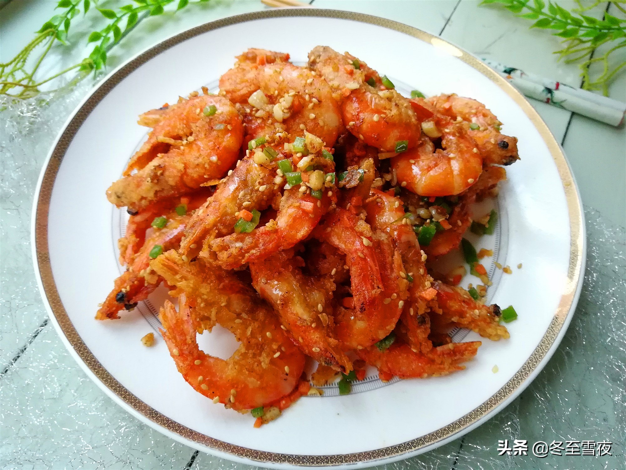 吃膩了水煮大蝦,教你12道大蝦的做法,中秋節招待客人有面子