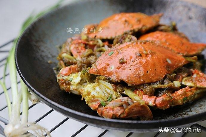 這六種螃蟹的做法,搭配好,方法贊,學會了自己做更好吃