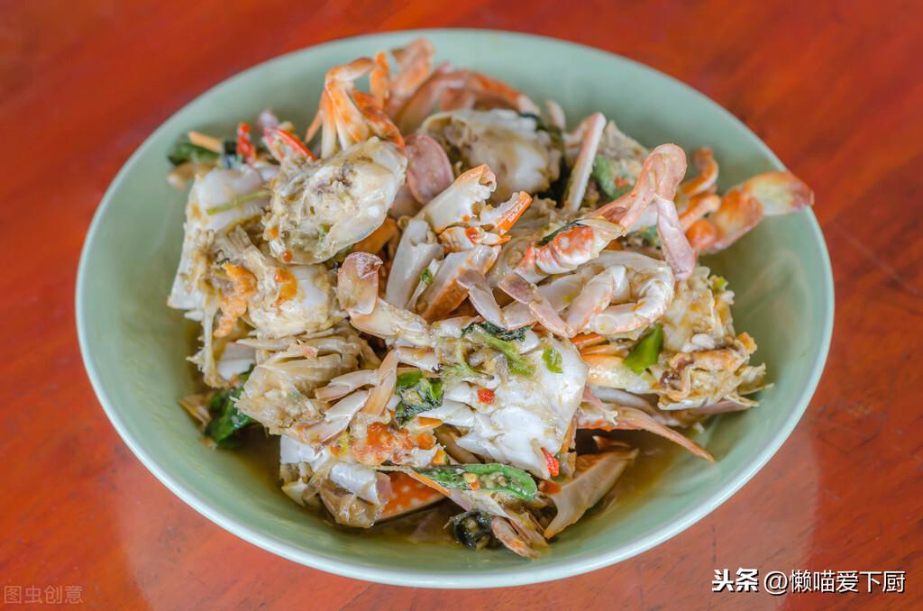 螃蟹的5種家常做法,秋天吃螃蟹正當季,錯過要再等1年
