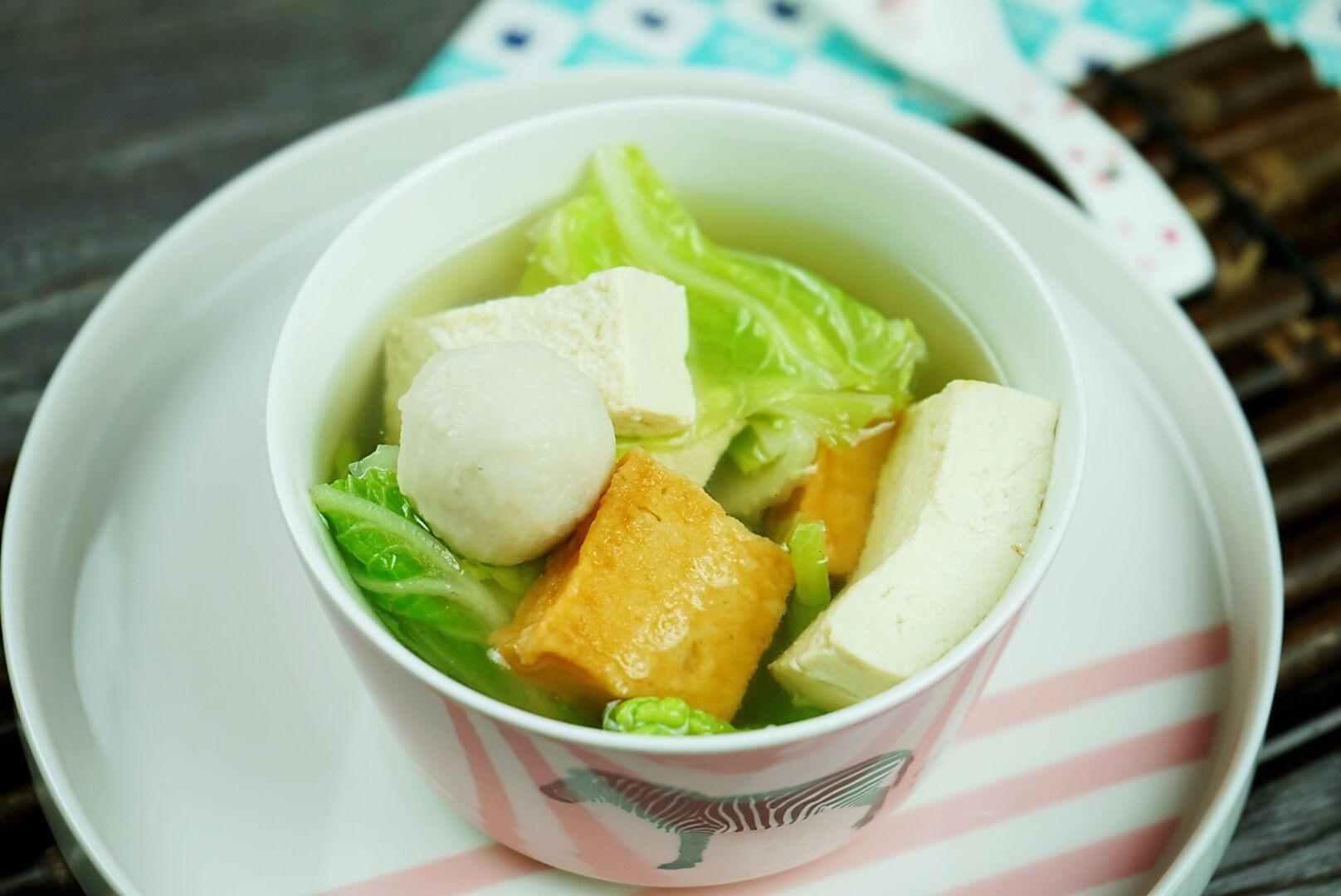一棵白菜做四道菜,葷素搭配營養全,去火降壓效果,天越冷越明顯
