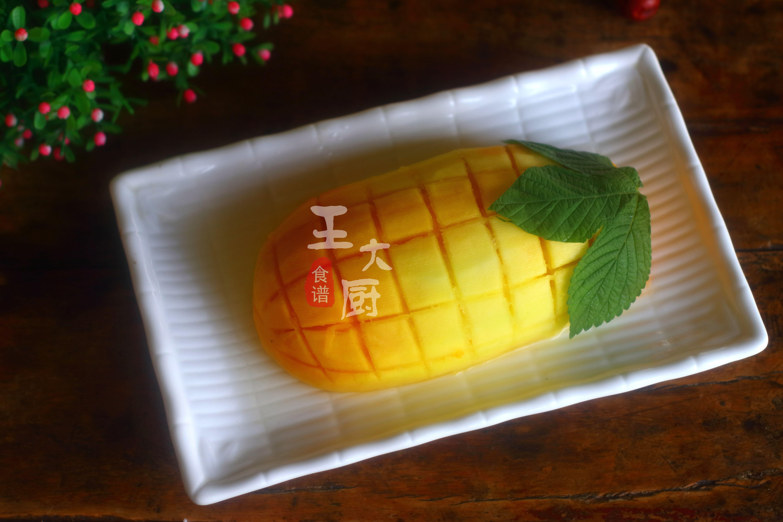 蒸木瓜竟然可以這麼可愛,看著就流口水,好看又好吃,做法很簡單