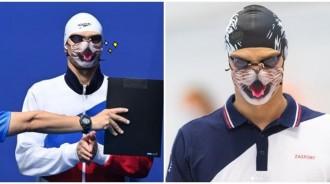 俄泳將勇奪金牌!想戴「貓貓口罩」領獎遭拒絕 貓奴紛絲暴動:為什麼不行QQ