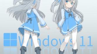 Windows娘化已成姐系,網友創作蘿莉同人圖:能吸引你升級嗎?